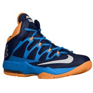 Nike Air Max Stutter Step   Mens   Basketball   Shoes   Midnight Navy/Photo Blue/Atomic Mango/White