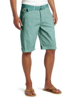 J.C. Rags Men's Poplin Twill Bermuda Shorts, Crystal Blue, 29 at  Men�s Clothing store