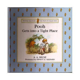 Pooh Gets Into a Tight Place Winnie the Pooh Pop up Collection Books