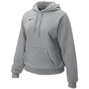 Nike Classic Fleece Hoody   Womens   For All Sports   Clothing   Sport Grey