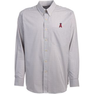 Antigua Anaheim Angels Mens Monarch Long Sleeve Dress Shirt   Size XXL/2XL,