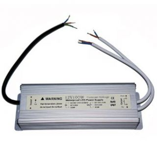 Waterproof IP67 LED Driver Transformer 100 Watt 12V Power Supply with double output   Indoor Lighting Low Voltage Transformers