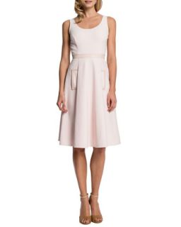 Womens Merrin Sleeveless Pleated Skirt Dress   Cynthia Steffe   Rosemist (12)