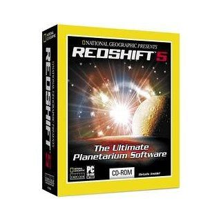 National Geographic Presents RedShift 5 Planetarium Software Software
