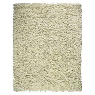 Recycle Paper Shag Area Rug Mocha (4x6)