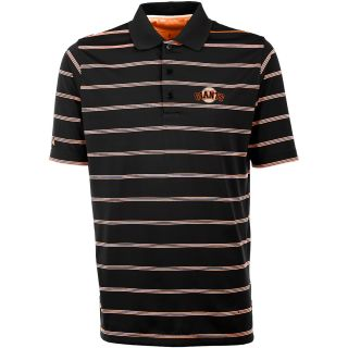 Antigua San Francisco Giants Mens Deluxe Short Sleeve Polo   Size Large,