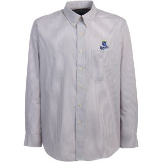 Antigua Kansas City Royals Mens Republic Button Down Long Sleeve Dress Shirt