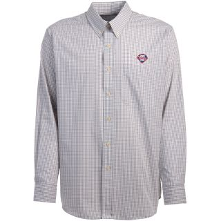 Antigua Philadelphia Phillies Mens Monarch Long Sleeve Dress Shirt   Size