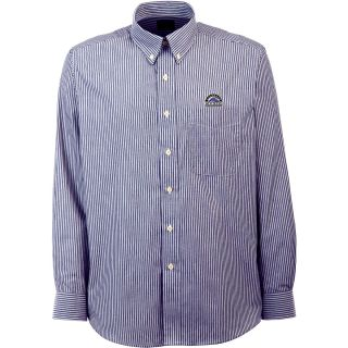 Antigua Colorado Rockies Mens Republic Button Down Long Sleeve Dress Shirt