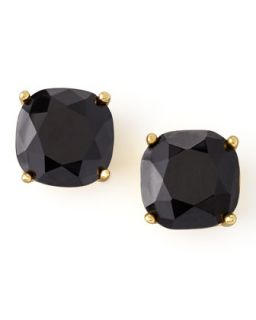 Small Square Stud Earrings, Jet Black   kate spade new york   Jet black