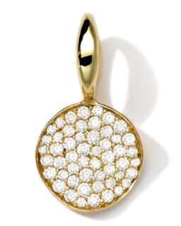 18k Gold Small Charm with Diamonds   Ippolita   Gold (18k )