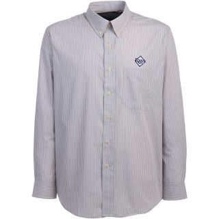 Antigua Tampa Bay Rays Mens Republic Button Down Long Sleeve Dress Shirt