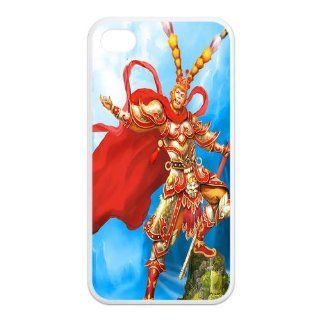 Mystic Zone Import Monkey King iPhone 4 Case for iPhone 4/4S Hard Cover Chinese Household Animation Fits Case KEK0985 Cell Phones & Accessories