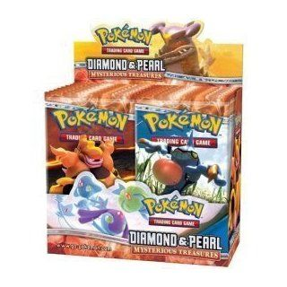 Pokemon Diamond & Pearl Mysterious Treasures Booster Pack Lot (3 Packs   10 Cards/Pack) Children, Kids, Game Toys & Games