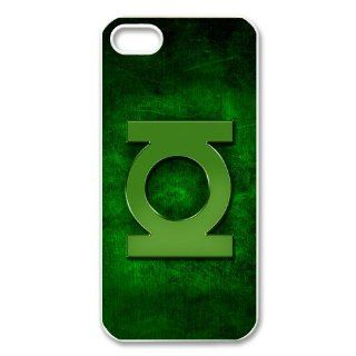 Custom Cartoon Green Lantern Cover Case for iPhone 5/5s WIP 2666 Cell Phones & Accessories