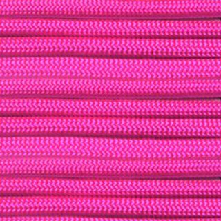 Paracord Planet 550 lb, 100' Foot Hank, Neon Pink Parachute Cord. Also known as paracord rope, parachute rope, utility cord, tactical cord, and military cord. USA made to provide durability and strength.  Climbing Utility Cord  Sports & Outdoors
