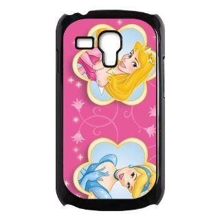 Disney Princess Cinderella and Princess Aurora Sleeping Beauty Samsung Galaxy S3 Mini Case for Samsung Galaxy S3 Mini Plastic New Back Case Cell Phones & Accessories