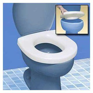 SOUND ACTIVATED LIGHT UP TOILET SEAT   RAISED SEAT MAKES SITTING DOWN AND STANDING UP EASIER Health & Personal Care