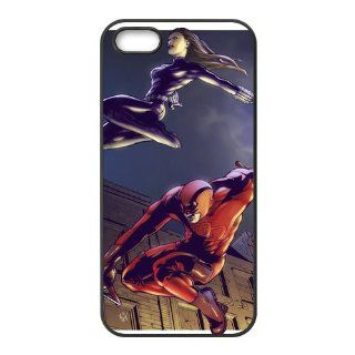 DIY Cover Film Style Hard Cover Cases Daredevil Hard Cover Cases for iPhone 5 (TPU) DIY Cover 1798 Cell Phones & Accessories