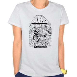 Gama Bomb   Citizen Brain album Girls top T shirts