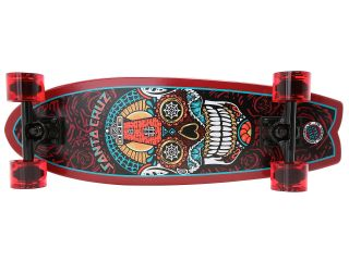 Santa Cruz Sugar Skull Shark Cruzer 8 8in X 27 7in Black Red