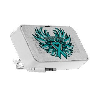 PKD Awareness Heart Wings PC Speakers