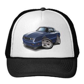 1983 88 Monte Carlo Blue Car Trucker Hat