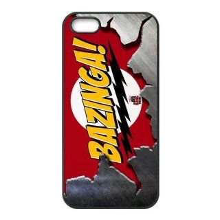 Personalized The Big Bang Theory Hard Case for Apple iphone 5/5s case AA2005 Cell Phones & Accessories