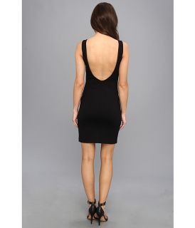 Amanda Uprichard Drop Back Column Mini Black