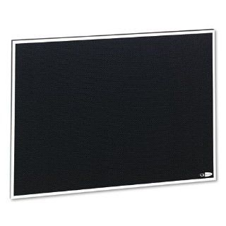 Quartet Products   Quartet   Matrix Bulletin Board, Woven Fabric, 23 x 16, Gray, Aluminum Frame   Sold As 1 Each   Mixing, match and connect multiple boards to suit your meeting and workspace needs.   Hang vertically or horizontally with included wall moun