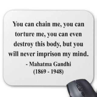 Gandhi Quote 7a Mouse Pads