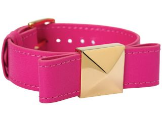 Kate Spade New York Locked In Leather Bow Bracelet