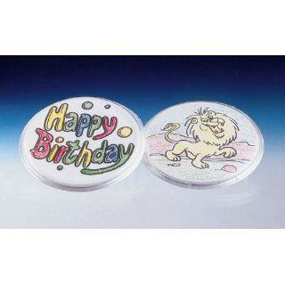 Neil Enterprises Snap Together Children`s Craft Buttons   3 inch Round   Pack of 12  Special Needs Educational Supplies