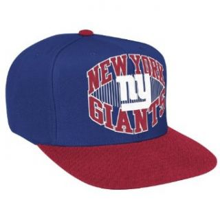 NFL Men's New York Giants Snapback Hat (New York Giants, One Size Fits All)  Sports Fan Baseball Caps  Clothing