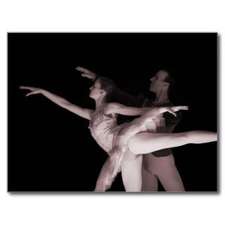 Ballet   Dance Partners 2   Red Post Cards