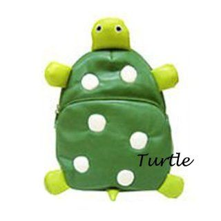Children Bag School Cartoon Animal Backpack Baby Toddler Kid's Leather Schoolbag Shoulder Bag Kindergarten Bag (Turtle)