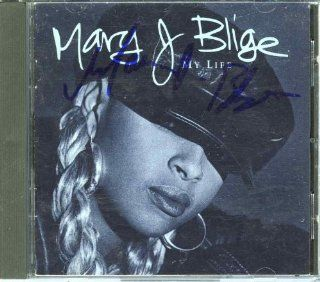 Mary J Blige 'My Life' Signed CD Certified Authentic PSA/DNA Mary J Blige Entertainment Collectibles