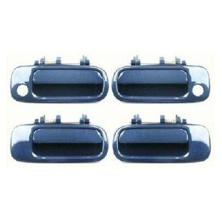 Motorking 6922033011C1 92 96 Toyota Camry Blue 8J6 Replacement Set 4 Outside Door Handles 92 93 94 95 96 Automotive