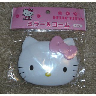 Hello Kitty Mirror Compact with Comb Toys & Games