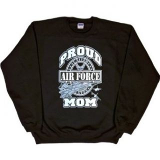 MENS SWEATSHIRT  PINK   XX LARGE   Proud Air Force Mom   Military USAF Clothing