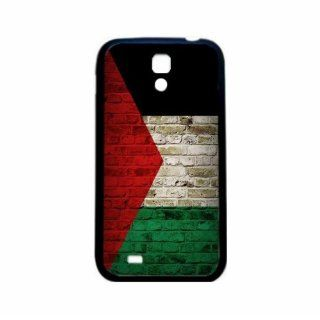 Palestine Brick Wall Flag Samsung Galaxy S4 Black Silcone Case   Provides Great Protection Cell Phones & Accessories