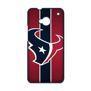 NFl Houston Texans Hard Plastic Back Cover Case for HTC ONE M7 Cell Phones & Accessories
