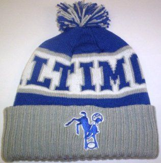 Nfl Baltimore Colts Vintage Cuffed Knit Hat  Sports Fan Beanies  Sports & Outdoors