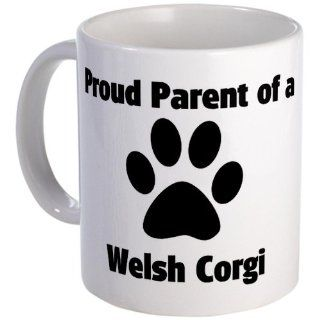 Proud Welsh Corgi Mug   Standard Kitchen & Dining