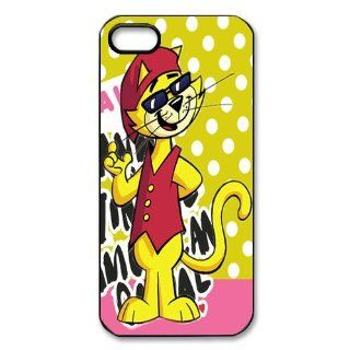 Mystic Zone Cute Cat iPhone 5 Case for iPhone 5 Cover Cartoon Fits Case WSQ0082 Cell Phones & Accessories