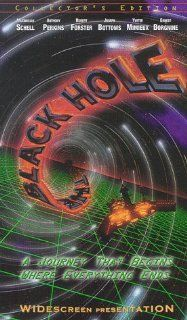 The Black Hole [VHS] Maximilian Schell, Anthony Perkins, Robert Forster, Joseph Bottoms, Yvette Mimieux, Ernest Borgnine, Tom McLoughlin, Roddy McDowall, Gary Nelson, Slim Pickens, Frank V. Phillips, G. Gregg McLaughlin, Ron Miller, Bob Barbash, Gerry Day