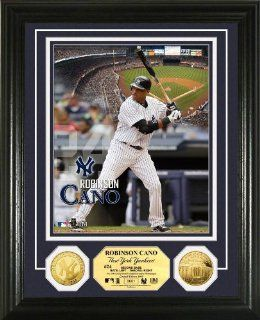 New York Yankees Robinson Cano Gold Coin Photo Mint  Sports Related Collectible Photomints  Sports & Outdoors