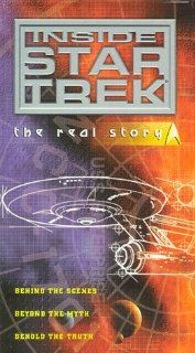 Inside Star Trek   The Real Story [VHS] Alexander Courage, Kellam de Forest, Marj Dusay, Fred Freiberger, James Goldstone, Walter M. Jefferies, George Clayton Johnson, Robert H. Justman, James Komack, Nichelle Nichols, Leonard Nimoy, Joseph Pevney, Donald
