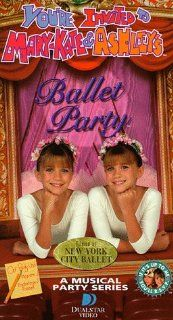 You're Invited to Mary Kate & Ashley's Ballet Party [VHS] Ashley Olsen, Mary Kate Olsen Movies & TV
