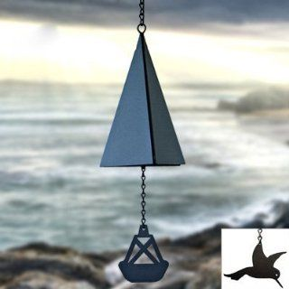 North Country Wind Bells Puget Sound Bell ™ with Red Crab   2 Tones  Wind Noisemakers  Sports & Outdoors
